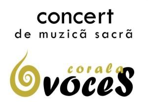 concert muzica sacra voces oradea 14 Aprilie