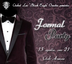 leo black eagle oradea formal party