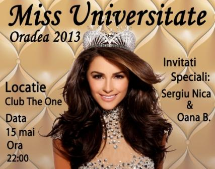 Miss universitatea oradea in club the one