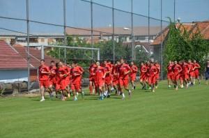 FC Bihor Antrenament