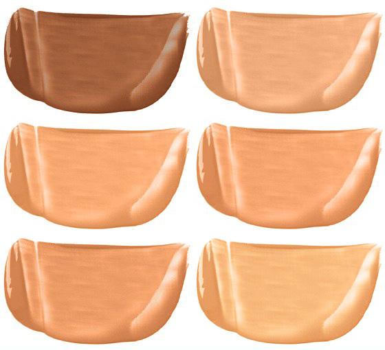 cc cream shades