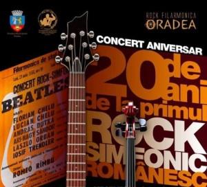 concert aniversar rock filarmonica oradea 05 octombrie