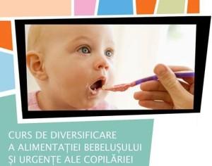 curs diversificare alimentatie bebelusi copii era park oradea