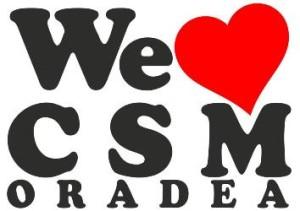 we love csm oradea