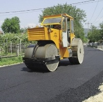 asfaltare strazi oradea buldozer