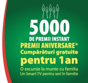 5000 de premii