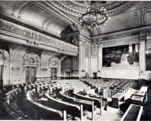 Sala Mare a Primariei Oradea