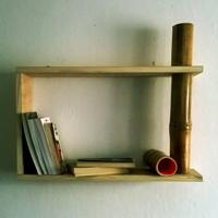 raft-din-lemn-handmade-rosu