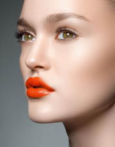 buze ruj portocaliu sursa foto contentinjection punct com