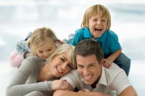 parinti copii familie