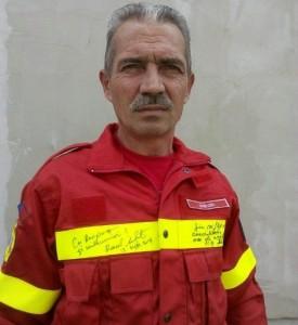 plt. adj sef Gyori Liviu-echipamentul primit de la secretarul de stat in MAI, dr. Raed Arafat