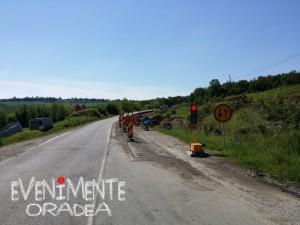 DN 76 semafoare Oradea Beius