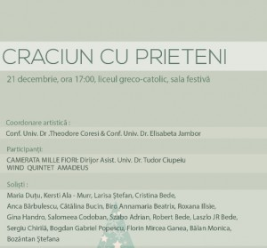 Afis Concert Craciun