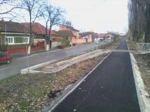 Pistă biciclete secțiunea Dimitrie Cantemir - Velenta