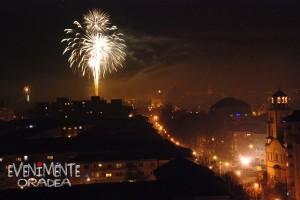 Focuri de artificii Revelion 2015 Evenimente Oradea