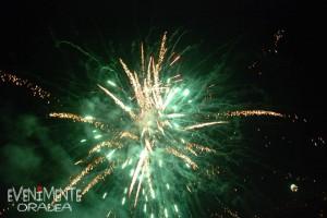 Focuri de artificii Oradea Revelion 2015 Primărie