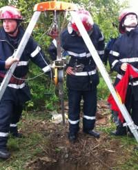 pompieri salvare cal