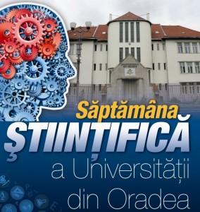 Afis Saptamana Stiintifica Univ'