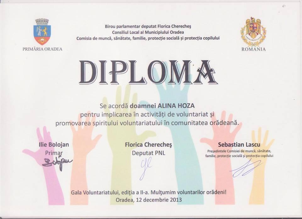 diploma primaria oradea