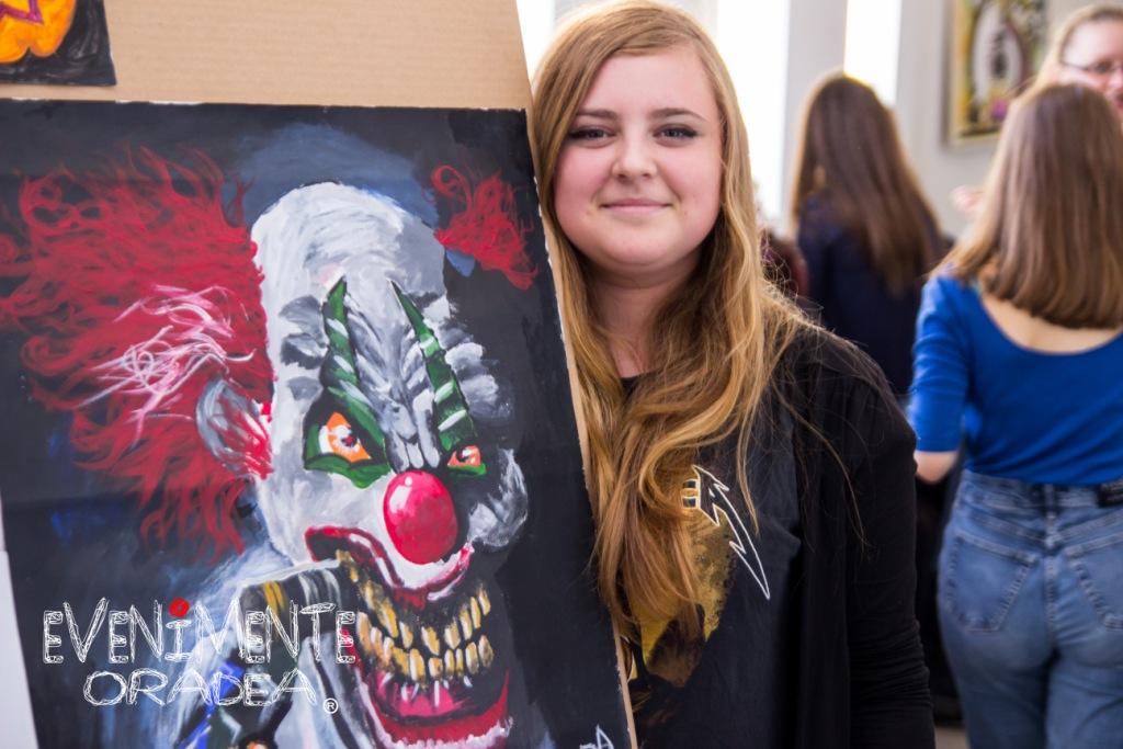 eleva halloween liceul de arta oradea