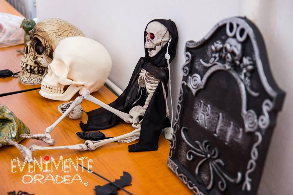 halloween schelet