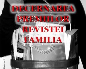 Afis Premiile Revistei Familia