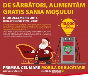 De sarbatori, alimentam gratis Sania Mosului