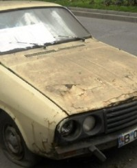 dacie masina abandonata oradea