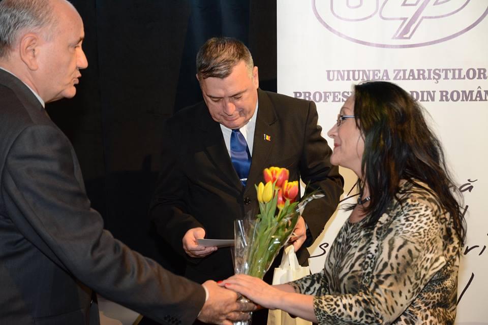 Maria Vesa Aurselei alături Benone Neagoe și Ion Predescu