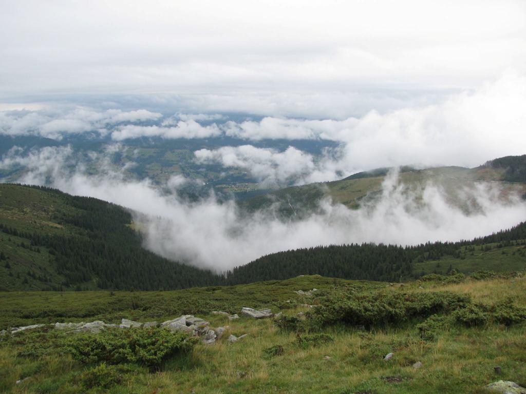 Jocul norilor Vârful Bihoru