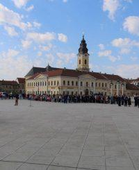 piata unirii, galerie de poze, evenimente oradea