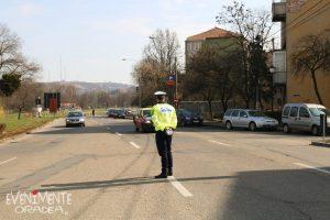 evenimente oradea, poză cu polițist