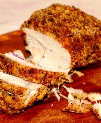 piept de curcan crustă porumb, delicios, rețetă de, mâncare ușoară