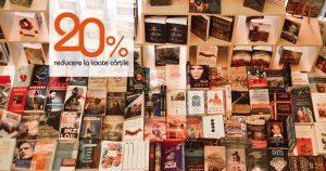 noaptea cărților deschise, 20% reducere