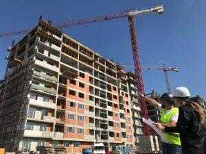 șantier blocuri ansamblu rezidențial apartamente