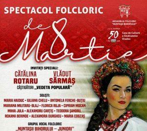 concert folcloric 8 martie